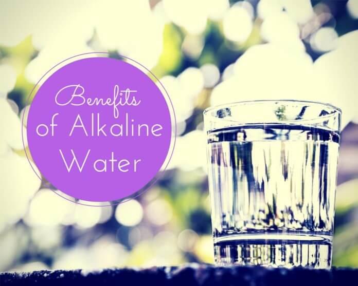 HEALTH BENEFITS OF ALKALINE WATER