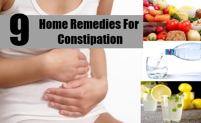 9 Home Remedies For Constipation!