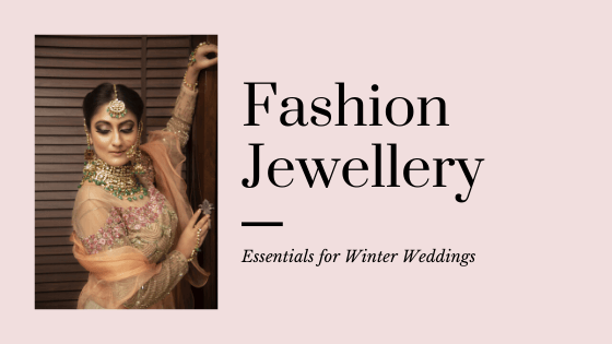 Fashion Jewellery Essentials For A Winter Wedding