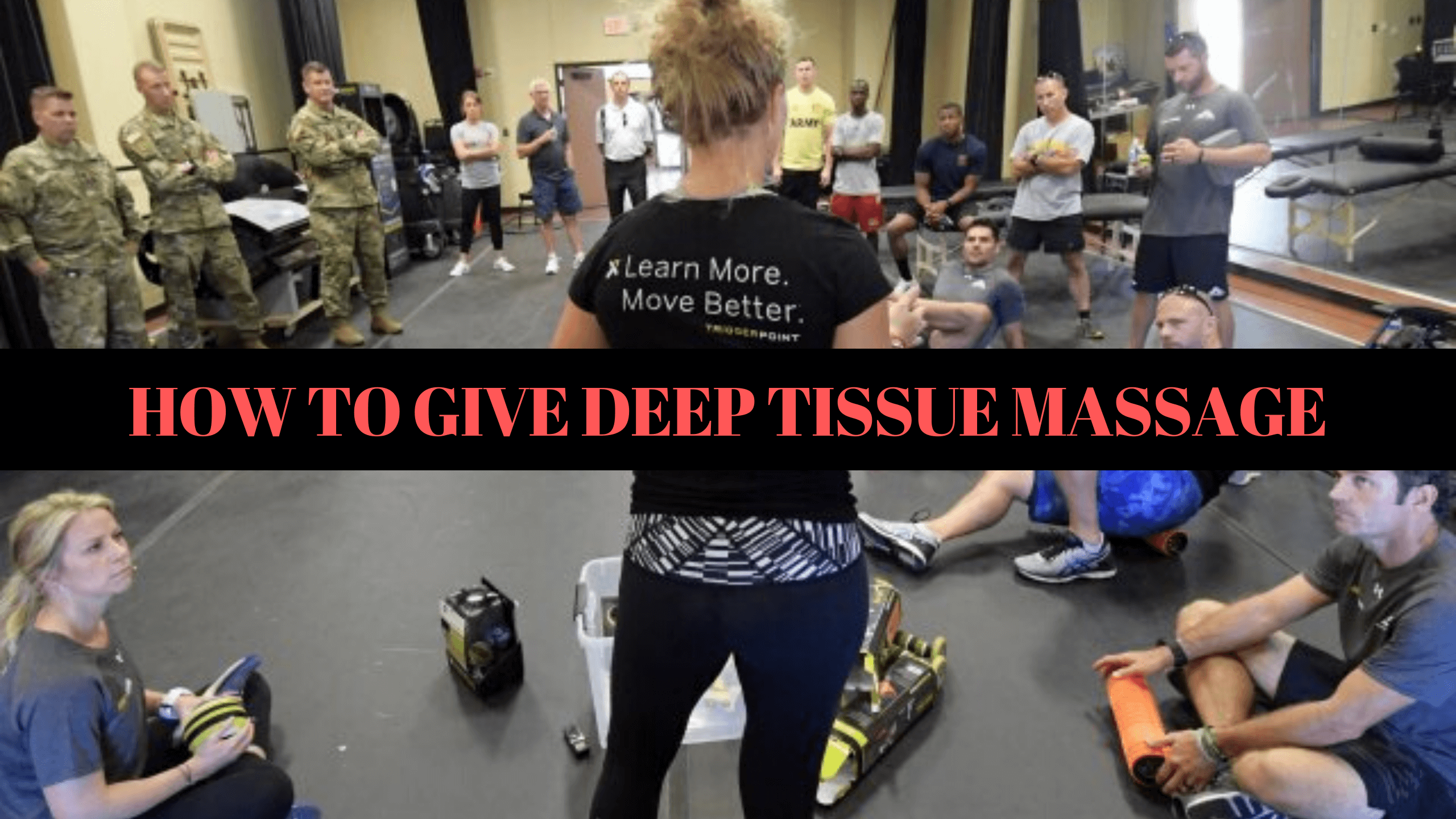 How to Give Deep Tissue Massage