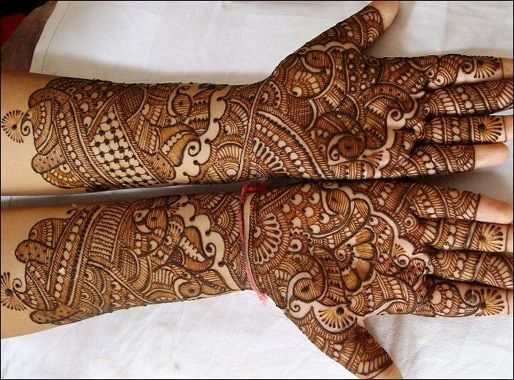 Best Mehndi Designs for Full Hands