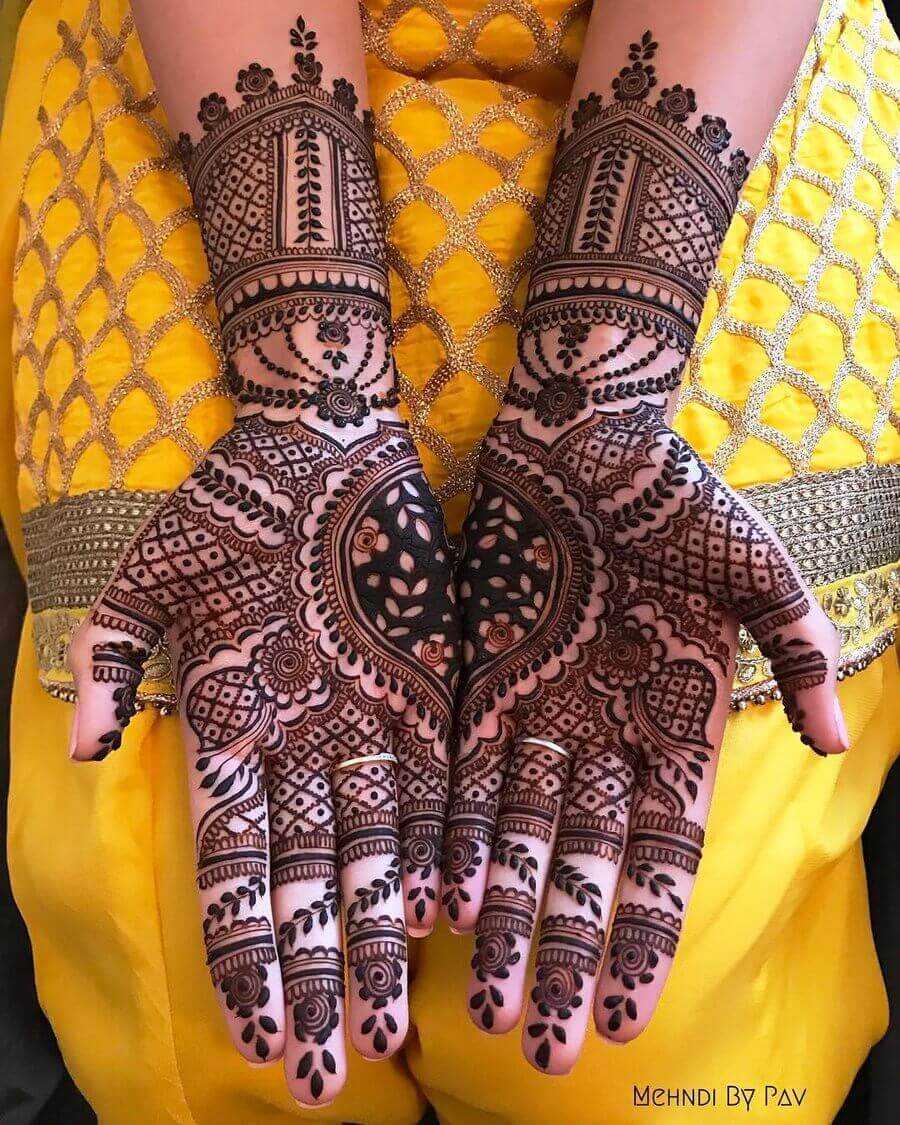 20+ Best Mehndi Designs for Front Hands