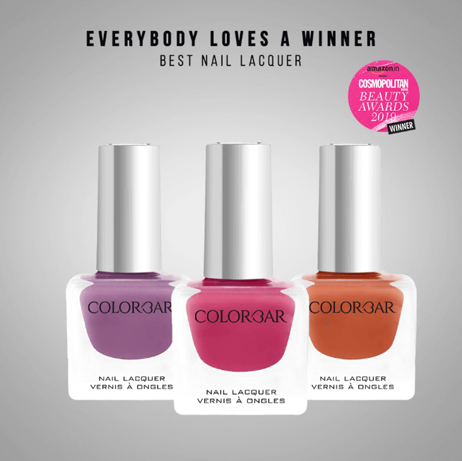 Colorbar Nail Lacquer Collection: Winner Of Nykaa Femina Beauty Awards 2020