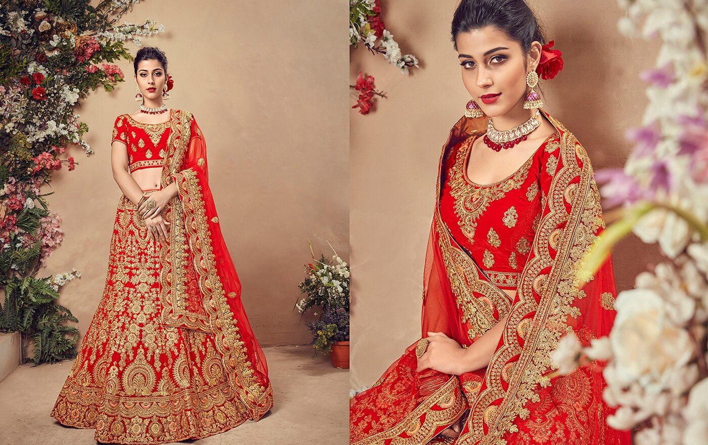 Different Designs that You Should Know About While Choosing a Lehenga Online