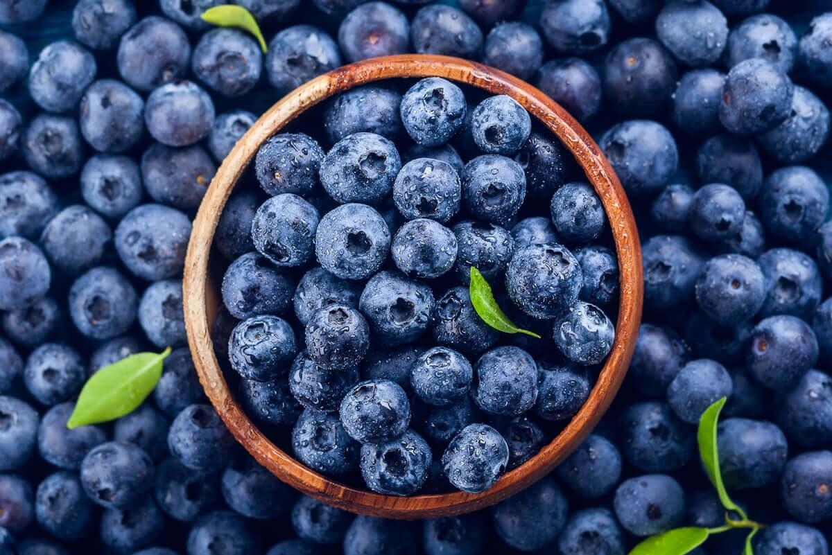 5 benefits of blueberries for the skin